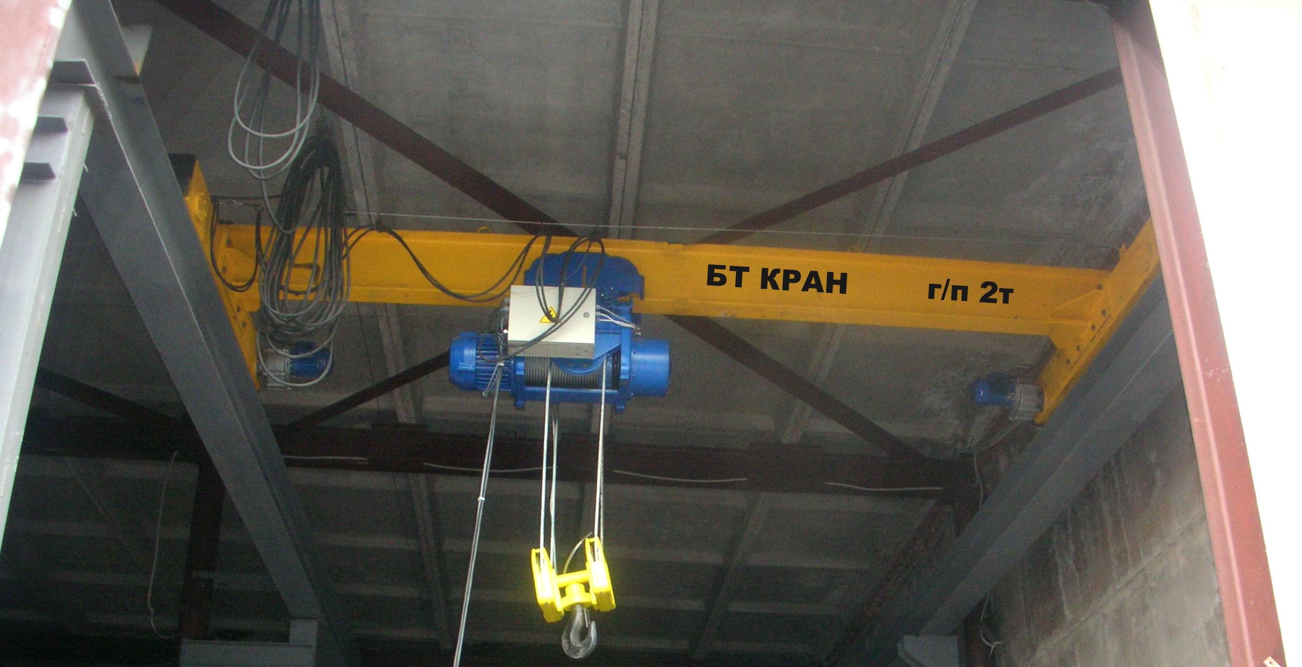 Электроснабжение кран-балки своими руками